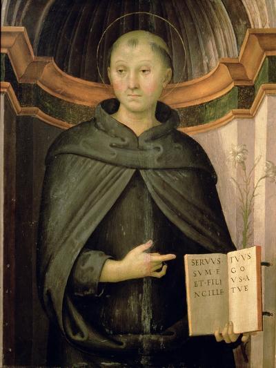 St. Nicholas of Tolentino-Pietro Perugino-Giclee Print