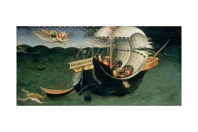 St. Nicholas Rebuking the Tempest-Bicci di Lorenzo-Giclee Print
