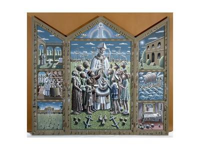 St. Nicholas-P.J. Crook-Giclee Print