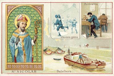 St Nicholas--Giclee Print