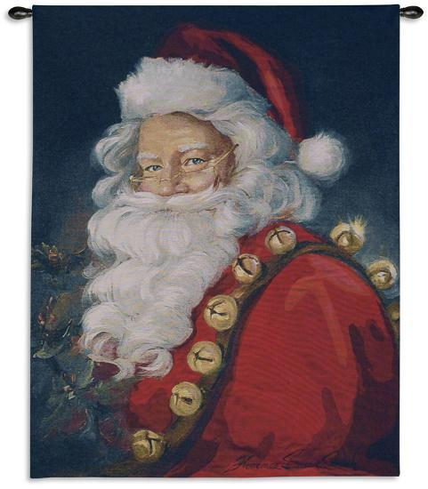 St. Nick-Susan Comish-Wall Tapestry