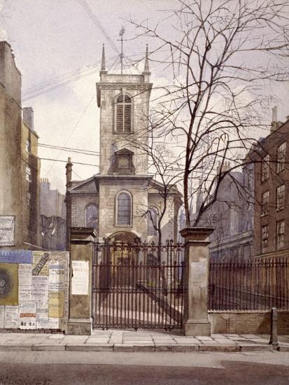 St Olave Jewry, London, 1887-John Crowther-Giclee Print