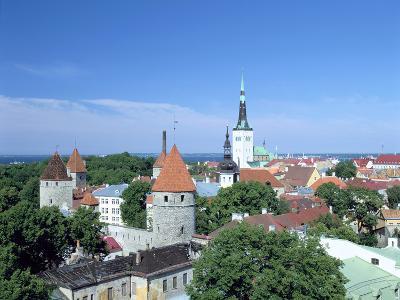 St Olavs Church, Tallinn, Estonia-Peter Thompson-Photographic Print