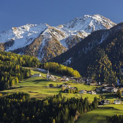 St. Oswald, Puster Valley, Tirol, Gailtal, Carnic Alps, East Tyrol, Tyrol, Austria-Rainer Mirau-Photographic Print