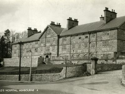 St Oswald's Hospital, Ashbourne, Derbyshire-Peter Higginbotham-Photographic Print