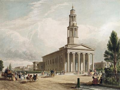 St. Pancras Church, London--Giclee Print