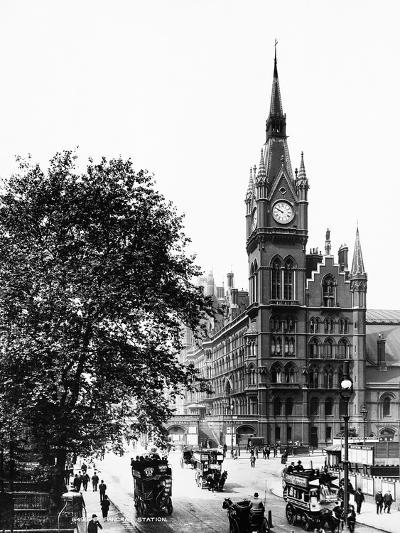 St. Pancras Railway Station--Photographic Print