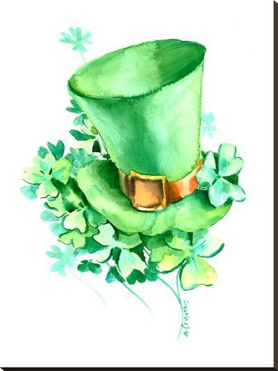 St Patrick 2-Suren Nersisyan-Stretched Canvas Print