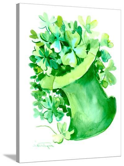 St Patrick 3-Suren Nersisyan-Stretched Canvas Print