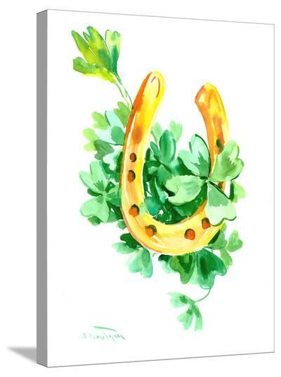 St Patrick 5-Suren Nersisyan-Stretched Canvas Print