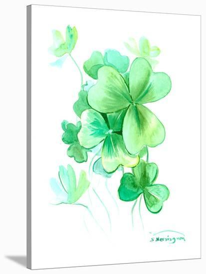 St Patrick 7-Suren Nersisyan-Stretched Canvas Print