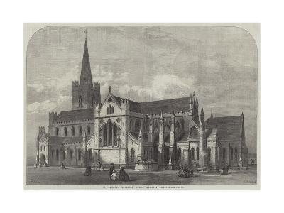St Patrick's Cathedral, Dublin, Recently Restored-Frank Watkins-Giclee Print