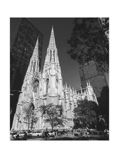St. Patricks Cathederal, NYC Daytime 1 - New York City Landmark Midtown Manhattan-Henri Silberman-Photographic Print