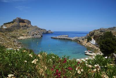 St. Paul Beach. Lindos, Rhodes, Dodecanese, Greek Islands, Greece, Europe-Tuul-Photographic Print