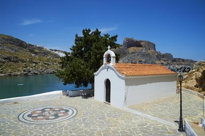 St. Paul Beach, Lindos, Rhodes, Dodecanese, Greek Islands, Greece, Europe-Tuul-Photographic Print