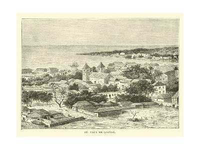 St Paul De Loanda--Giclee Print