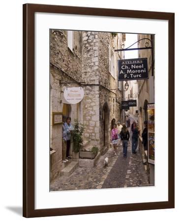 St. Paul De Vence, Alpes Maritimes, Provence, Cote d'Azur, France-Sergio Pitamitz-Framed Photographic Print