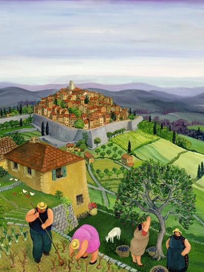 St. Paul de Vence-Margaret Loxton-Giclee Print