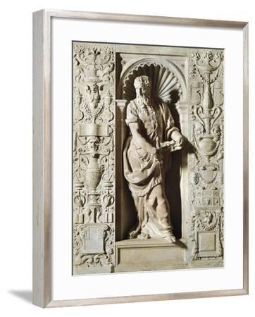 St Paul, Marble Sculpture-Vincenzo De Rossi-Framed Giclee Print