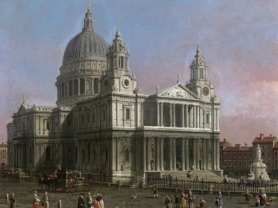 St. Paul's Cathedral, 1754-Canaletto-Giclee Print