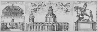 St Paul's Cathedral, City of London, 1710--Giclee Print