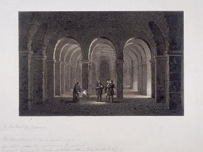 St Paul's Cathedral, London, 1852-SW Calvert-Giclee Print