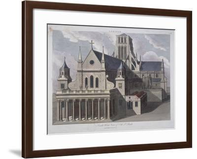 St Paul's Cathedral, London, C17th Century-John Chapman-Framed Giclee Print