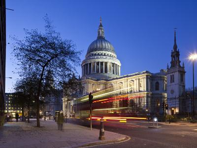 St. Paul's Cathedral, London, England-Jon Arnold-Photographic Print