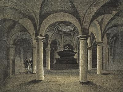 St Paul's Cathedral, the Crypt, Monument of Admiral Viscount Nelson under the Dome--Giclee Print