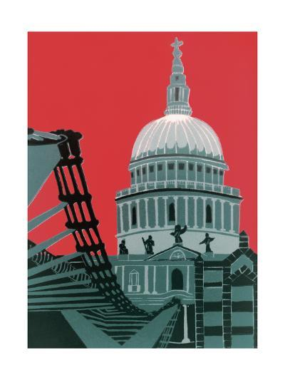 St Paul's Cathedral-Jennie Ing-Giclee Print