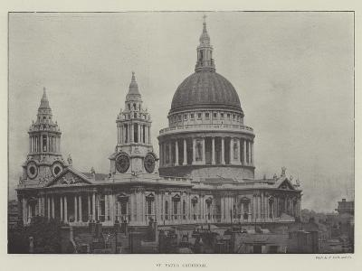 St Paul's Cathedral--Giclee Print