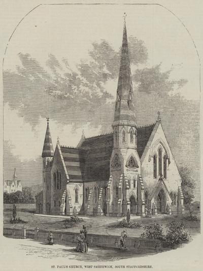 St Paul's Church, West Smethwick, South Staffordshire--Giclee Print