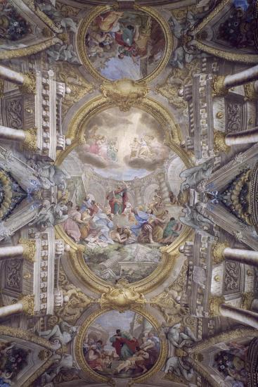 St Paul's Deeds in Areopagus-Giuseppe Maria Rolli-Giclee Print