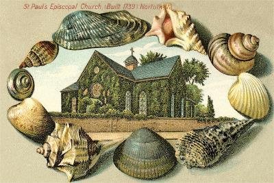 St. Paul's Episcopal Church, Norfolk, VA--Art Print
