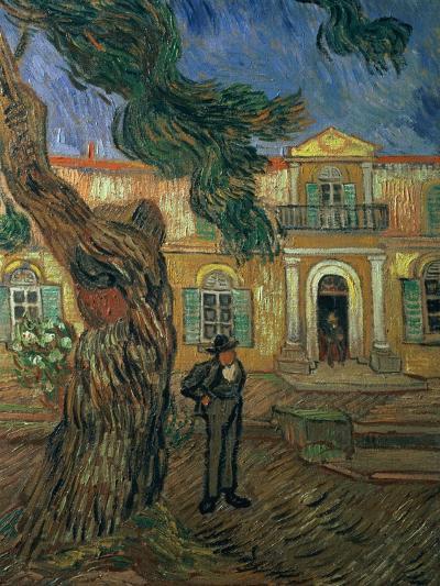 St. Paul's Hospital, St Remy, 1889-Vincent van Gogh-Giclee Print
