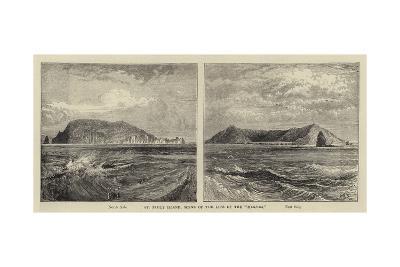 St Paul's Island, Scene of the Loss of the Megaera-William Henry James Boot-Giclee Print