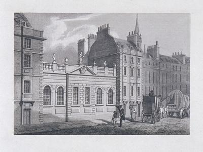 St Paul's School, London, 1814-Samuel Owen-Framed Giclee Print