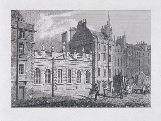 St Paul's School, London, 1814-Samuel Owen-Giclee Print
