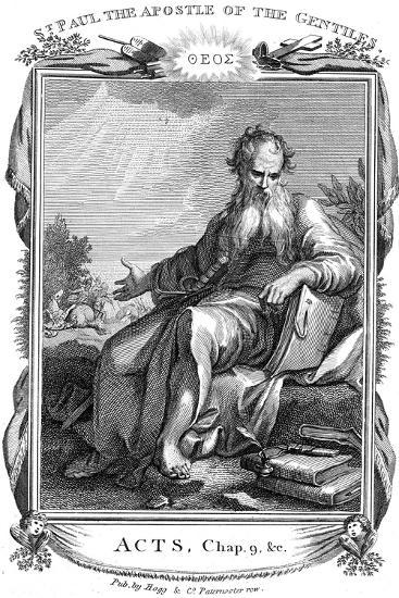 St Paul the Apostle Who Took the Christian Message to the Gentiles, 19th Century--Giclee Print