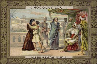 St Paulinus, Bishop of Nola--Giclee Print