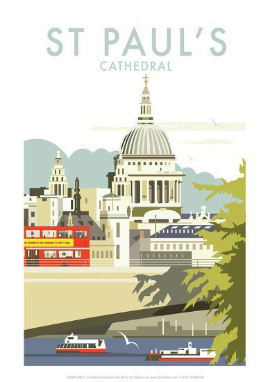 st pauls cathedral dave thompson contemporary travel. Black Bedroom Furniture Sets. Home Design Ideas