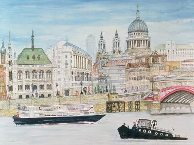 St. Pauls, London-Gillian Lawson-Giclee Print