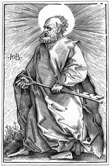 St Peter, 1519-A Bisson-Giclee Print
