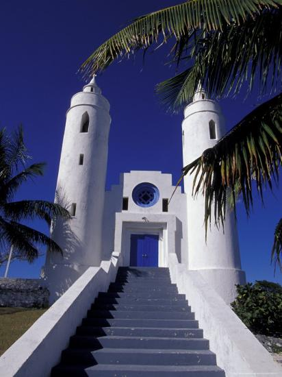 St. Peter Catholic Church, Long Island, Bahamas, Caribbean-Greg Johnston-Photographic Print