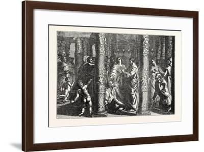 St. Peter Curing the Cripple--Framed Giclee Print