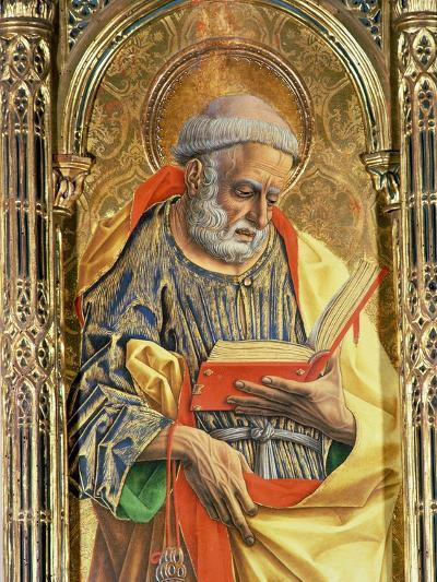 St. Peter, Detail from the Sant'Emidio Polyptych, 1473-Carlo Crivelli-Giclee Print