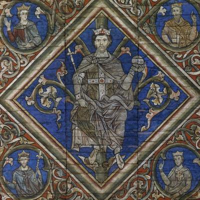 St Peter, Detail from Wooden Ceiling--Giclee Print