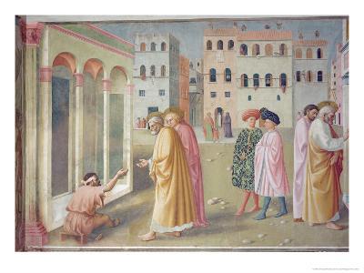 St. Peter Healing a Cripple, c.1427-Tommaso Masolino Da Panicale-Giclee Print