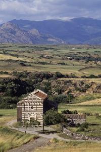 St Peter of Simbranos Church, 1113-1120, Bulzi, Sardinia, Italy