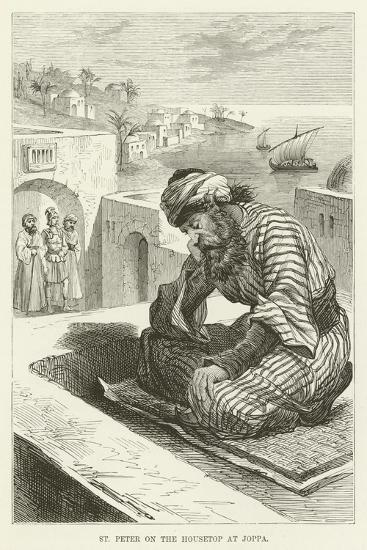 St Peter on the Housetop at Joppa--Giclee Print